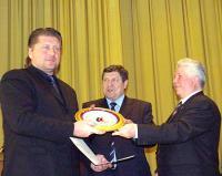 Награждение Федерации Айкидо России специальным призом - Триумф России